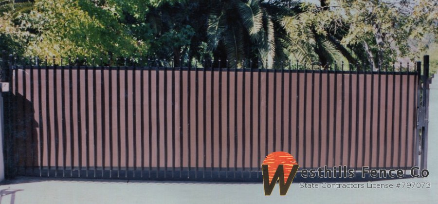 solid metal fence. Solid Metal Fence S
