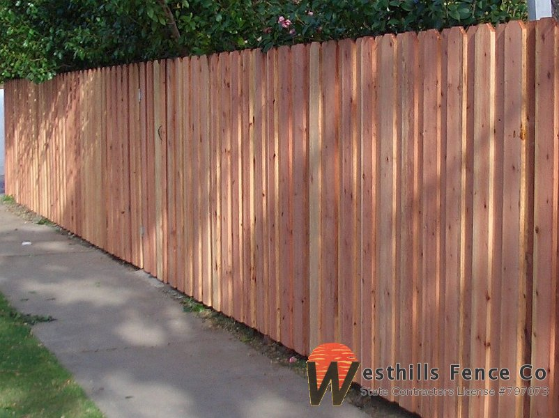 Redwood Fence Westhills Fence Co